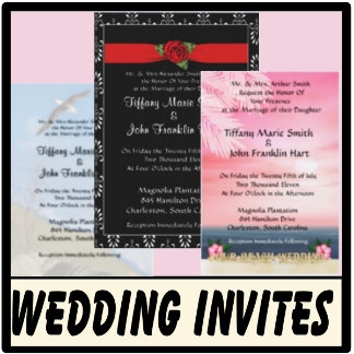 Custom Wedding Invitations & Showers
