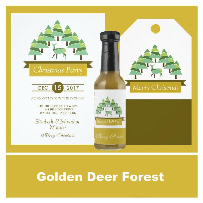 Golden Deer Forest