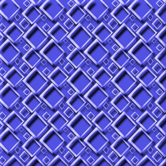 Diamonds 3D Effect Blue