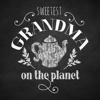 Sweetest Grandma Chalkboard