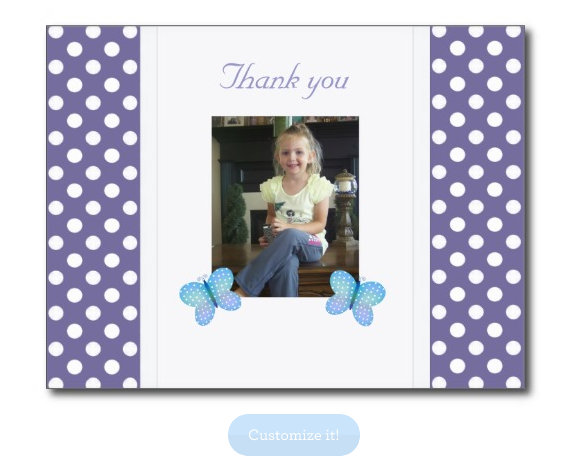 All Occasion Thank You Postcards