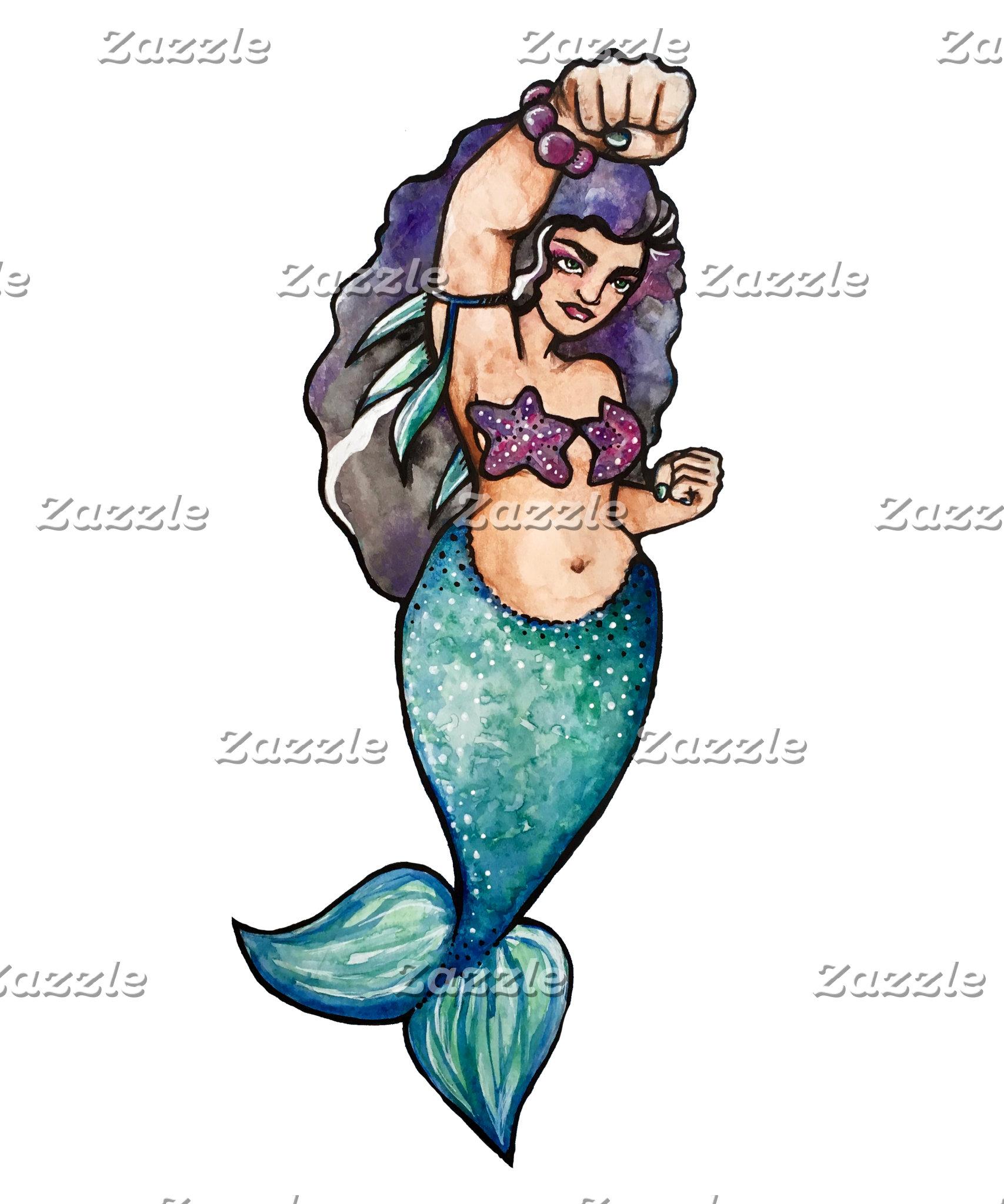 awesome mermaid