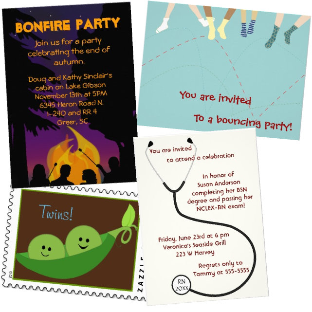 Invitations/Cards