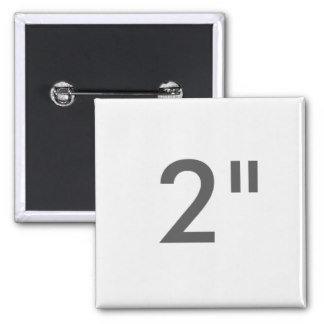 "2"" ZAZZLE Badges SQUARE"