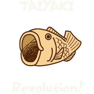 【たい焼き革命(カラー 濃色地用)】 TAIYAKI Revolution(for Dark)