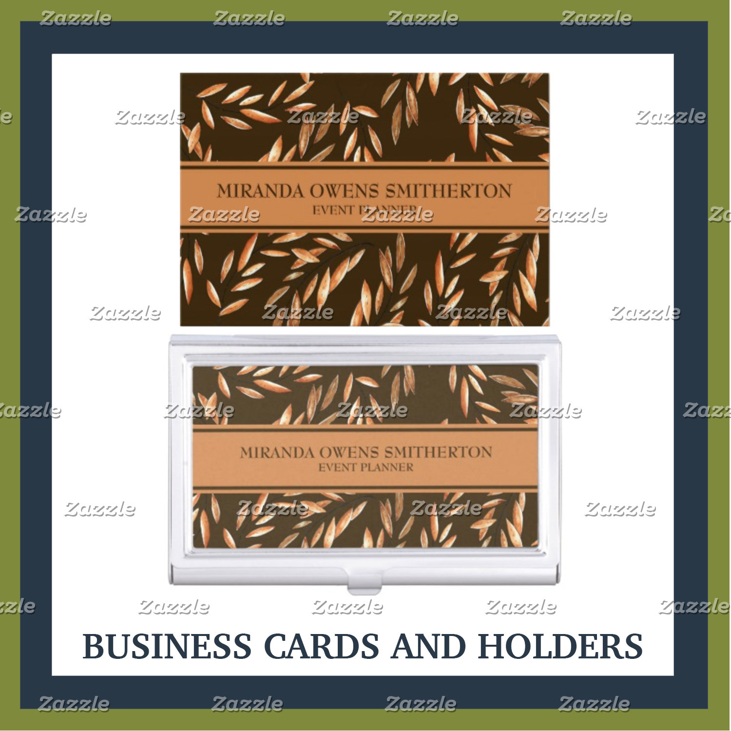 Business Cards and Business Card Holders