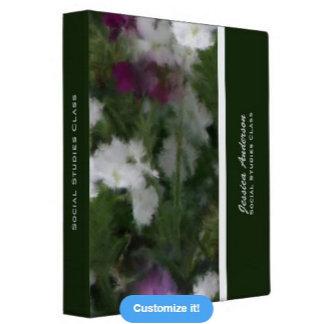 Floral Binders