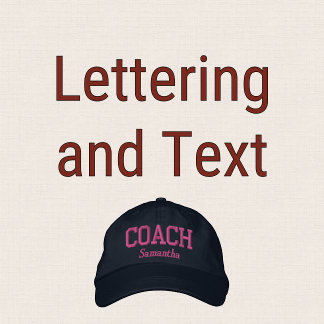 Lettering and Text