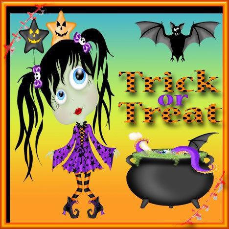 Halloween Ghoul Girl