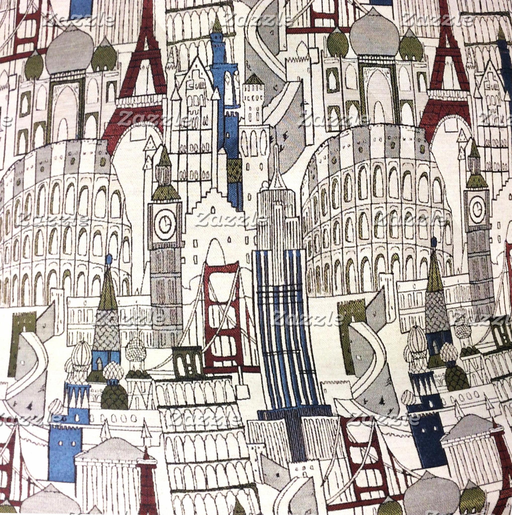 Fabrics, European Theme