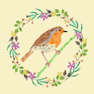 Happy Easter Robin bird