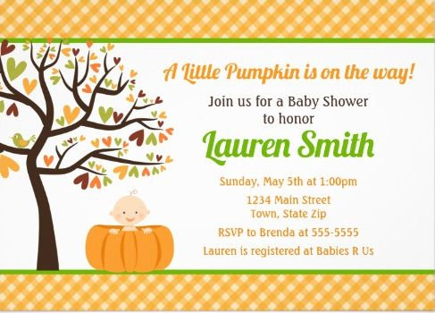Fall / Halloween Invites
