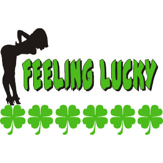 Feeling Lucky Irish Women's T-Shirts Gifts Cards