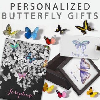 Personalized Butterfly Gifts
