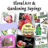 Floral Art and Green Sayings