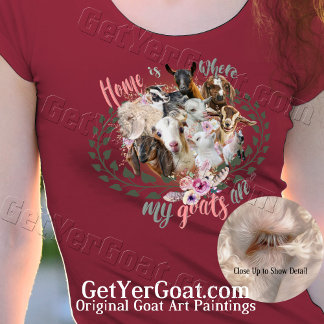 10 GOATS - Home is Where my Goats Are