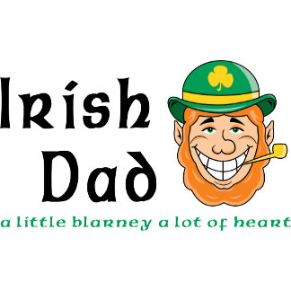 Irish Dad T-Shirt Gifts Cards