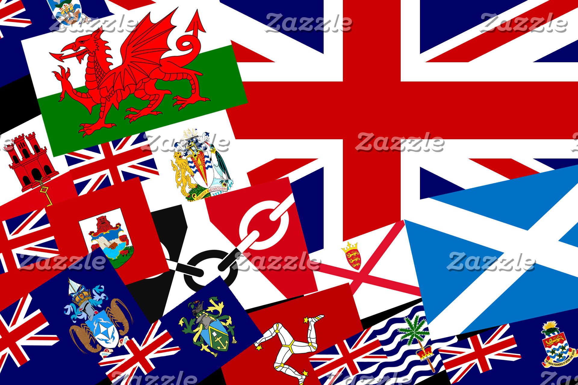 UK, British Isles and British Territories