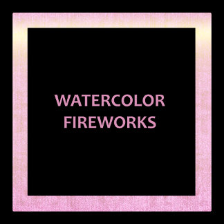 Watercolour Fireworks