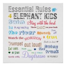 Elephant Rules Line