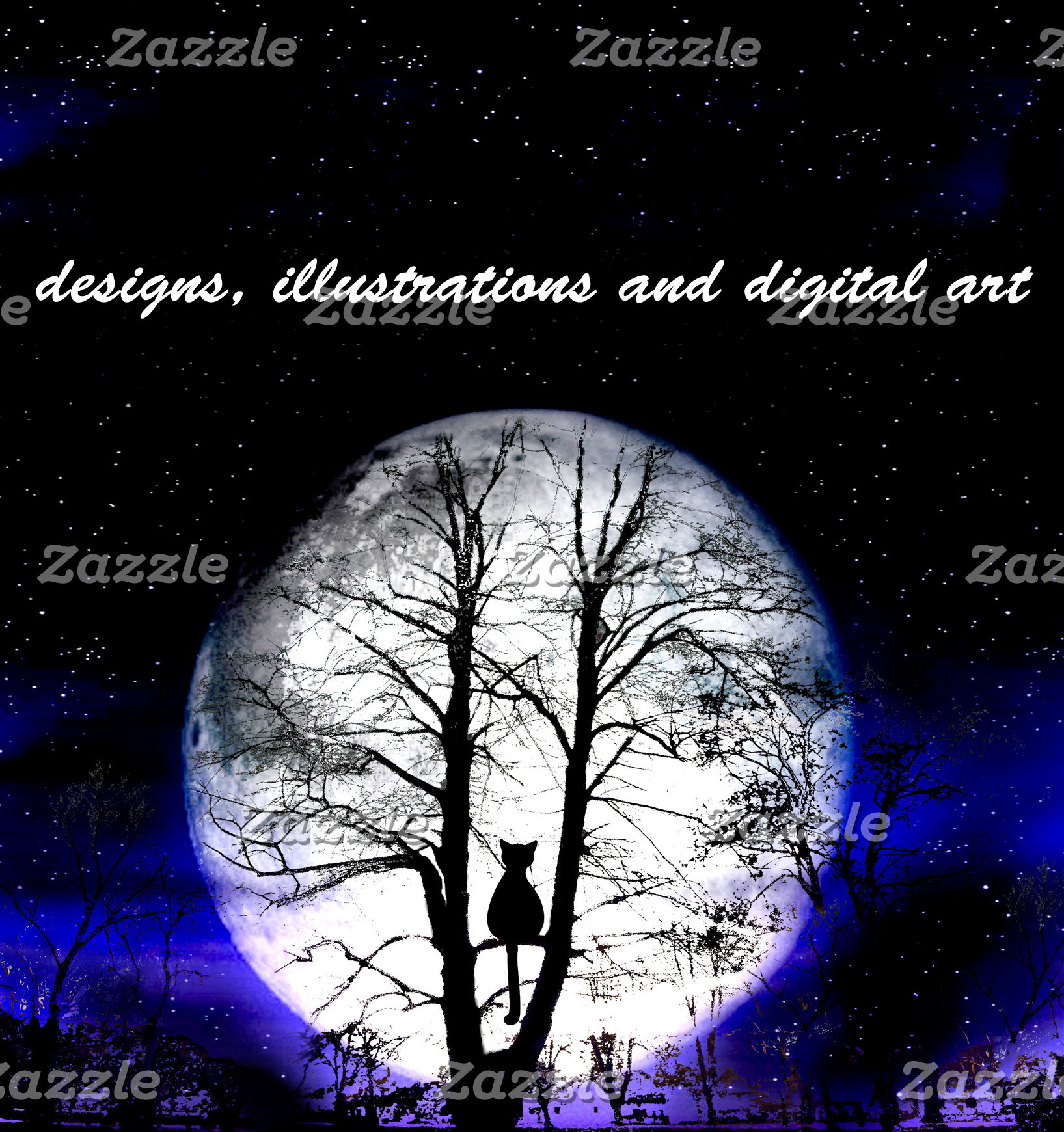 designs, illustrations and digital art