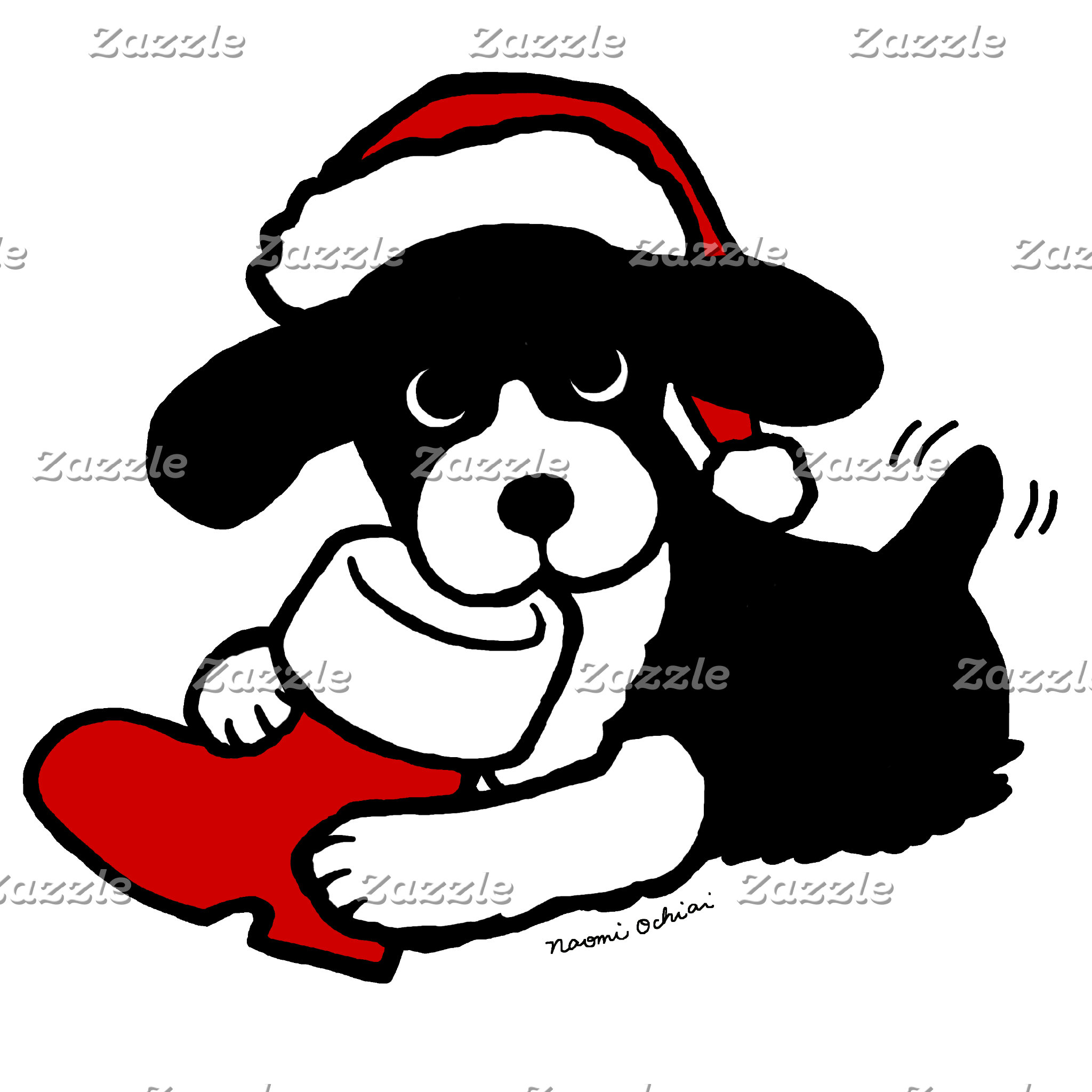 English Springer Spaniel Christmas