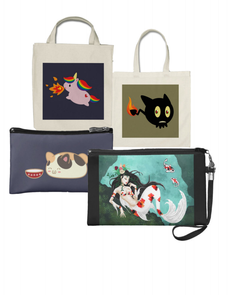 Totes and Wallets