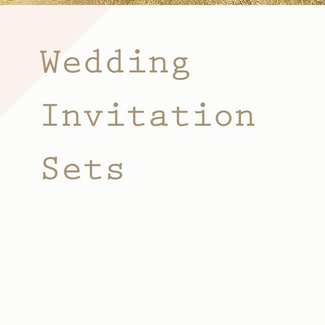 Wedding Invitation Sets