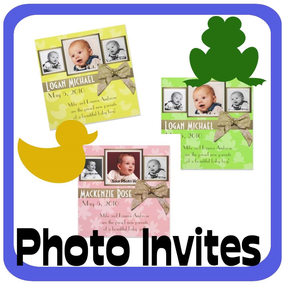 Photo Invites and Announcements