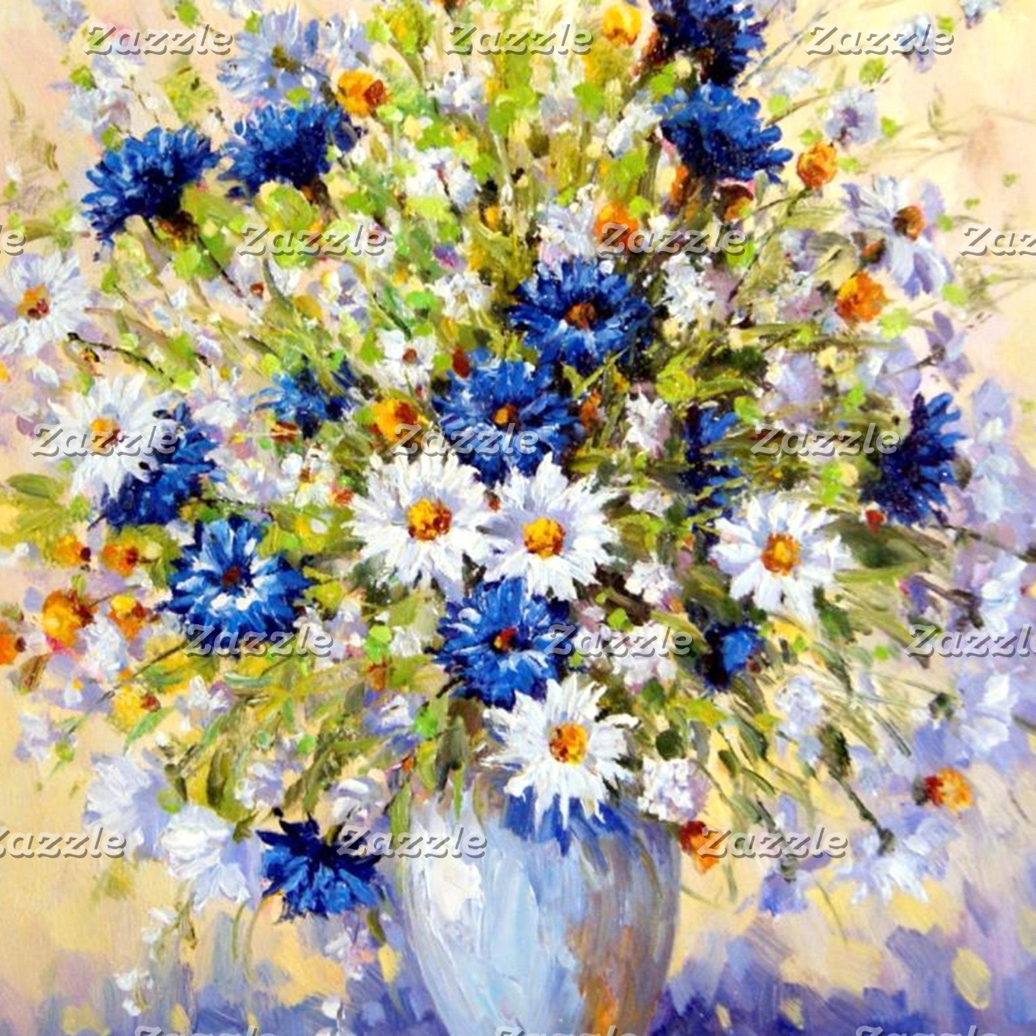 Floral, Flowers, Foliage