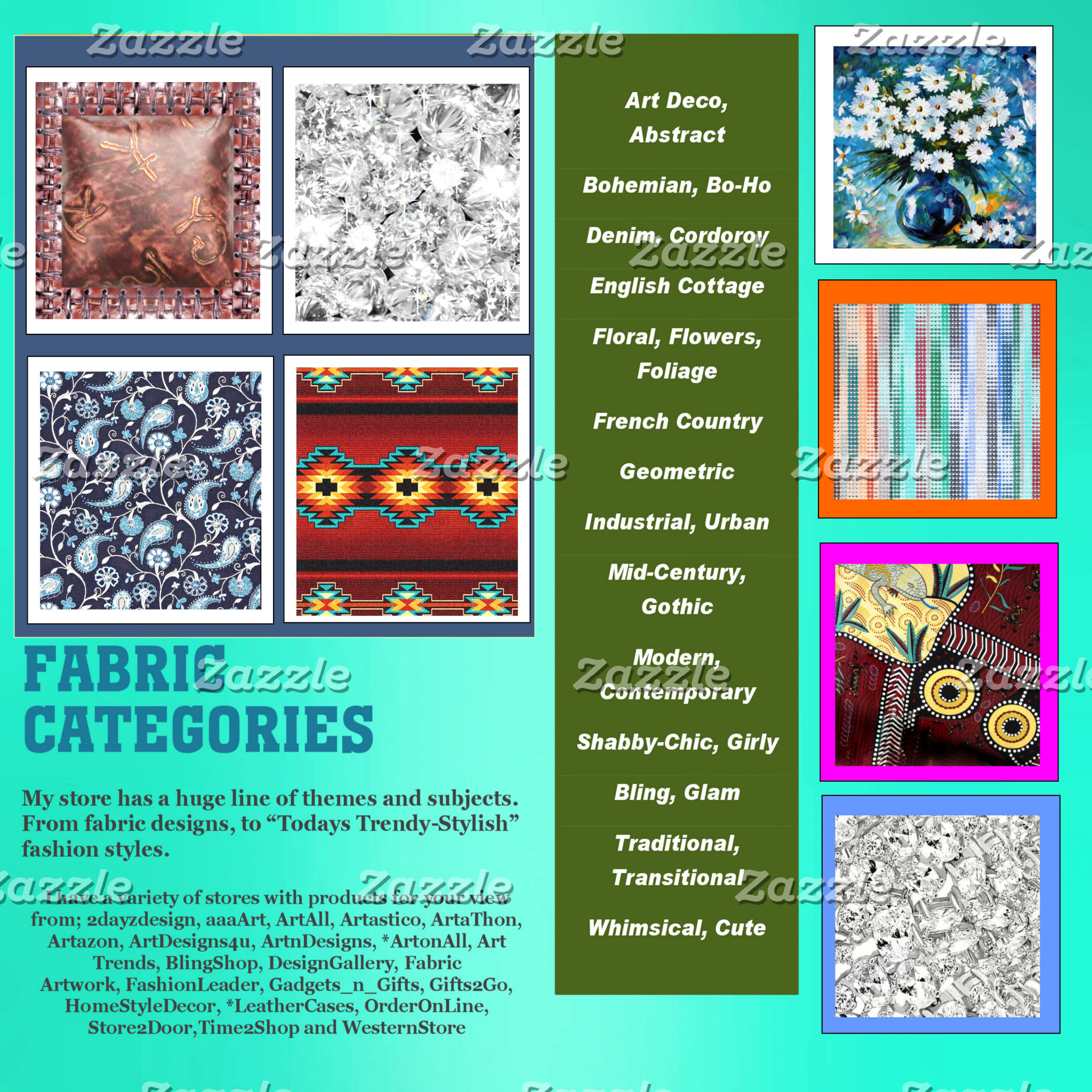 Fabric, CATEGORIES