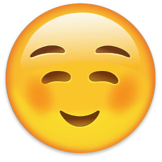 ☺️ WHITE SMILING FACE