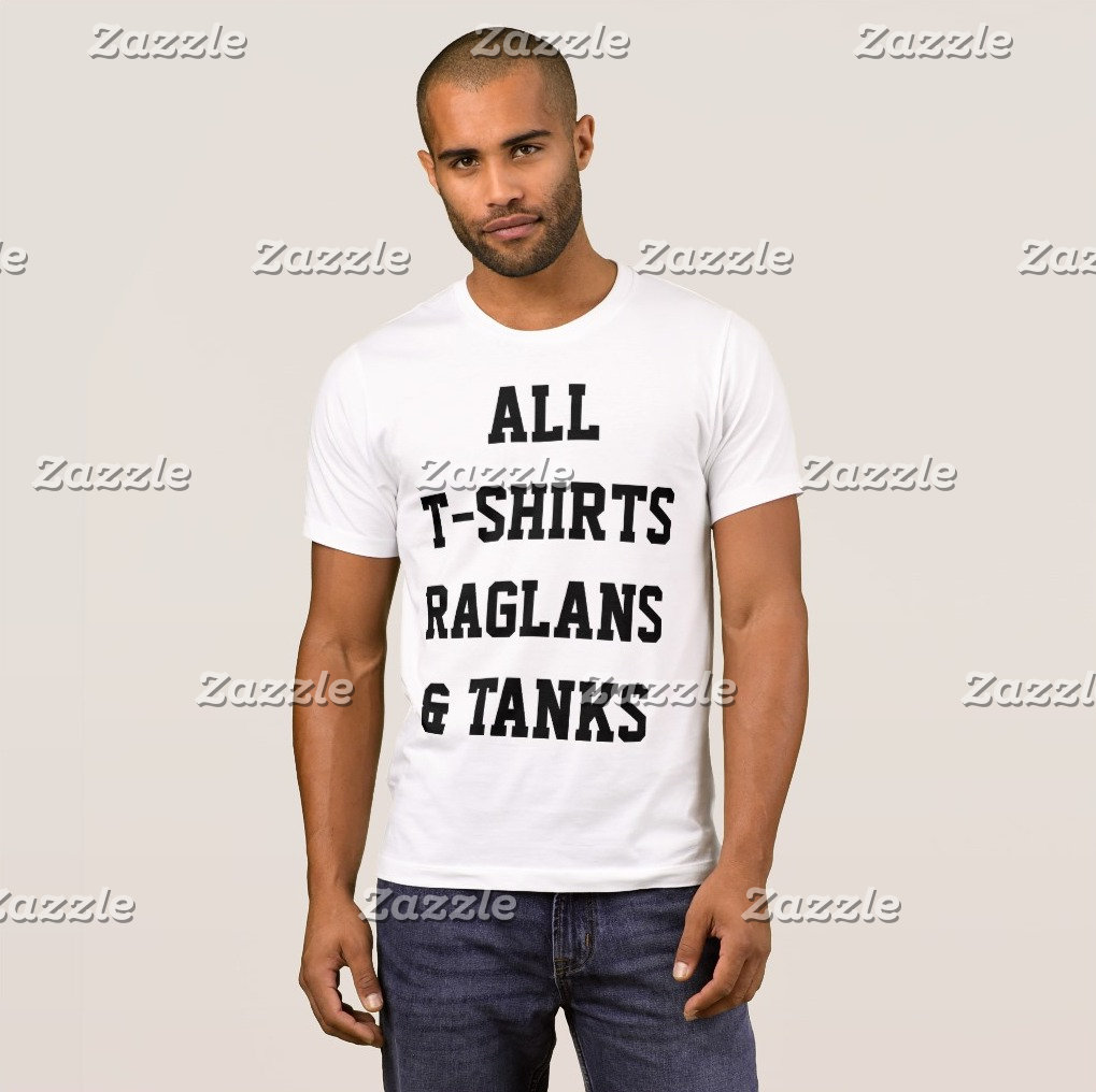 T-Shirts, Raglans & Tanks OVERVIEW