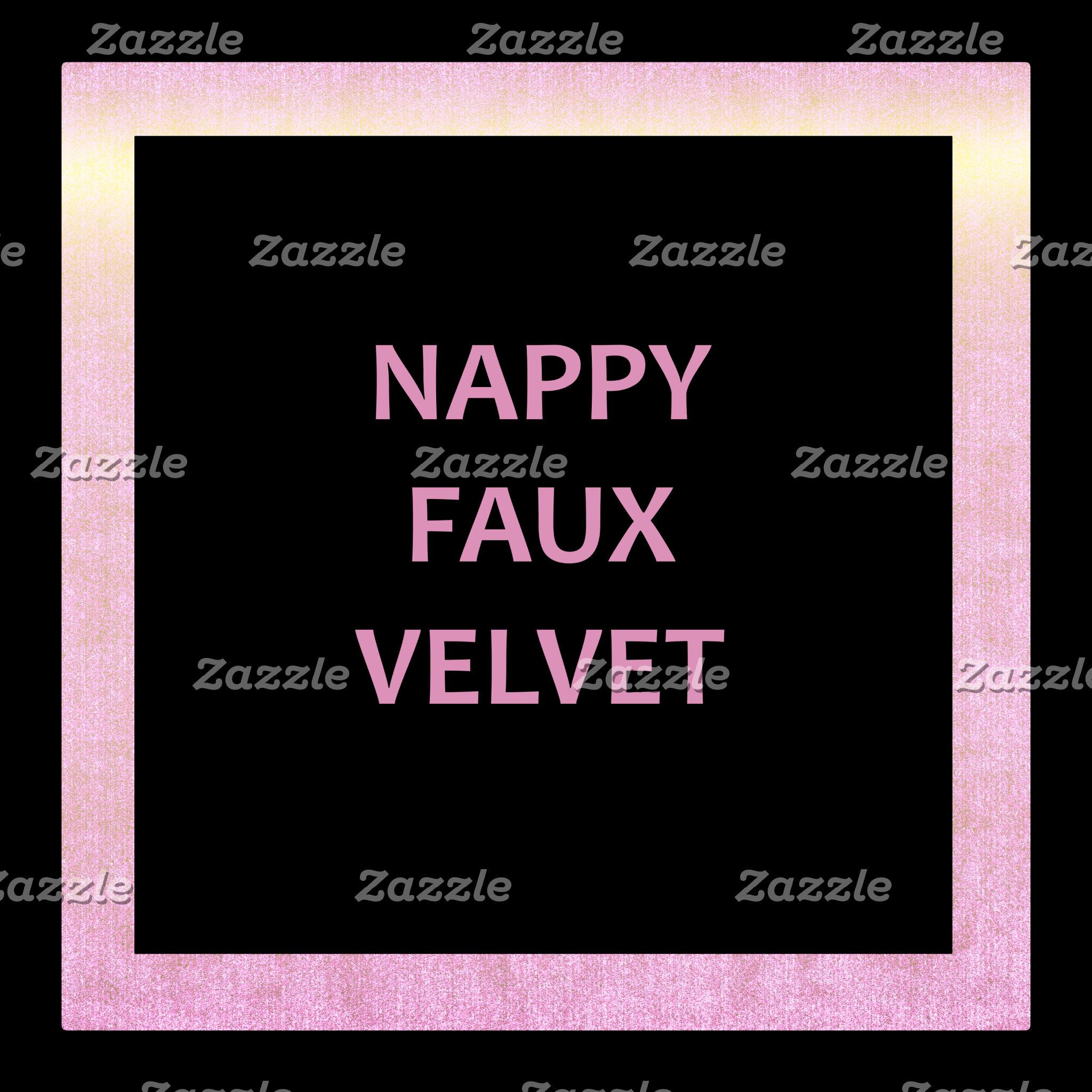 Crushed Faux Velvet