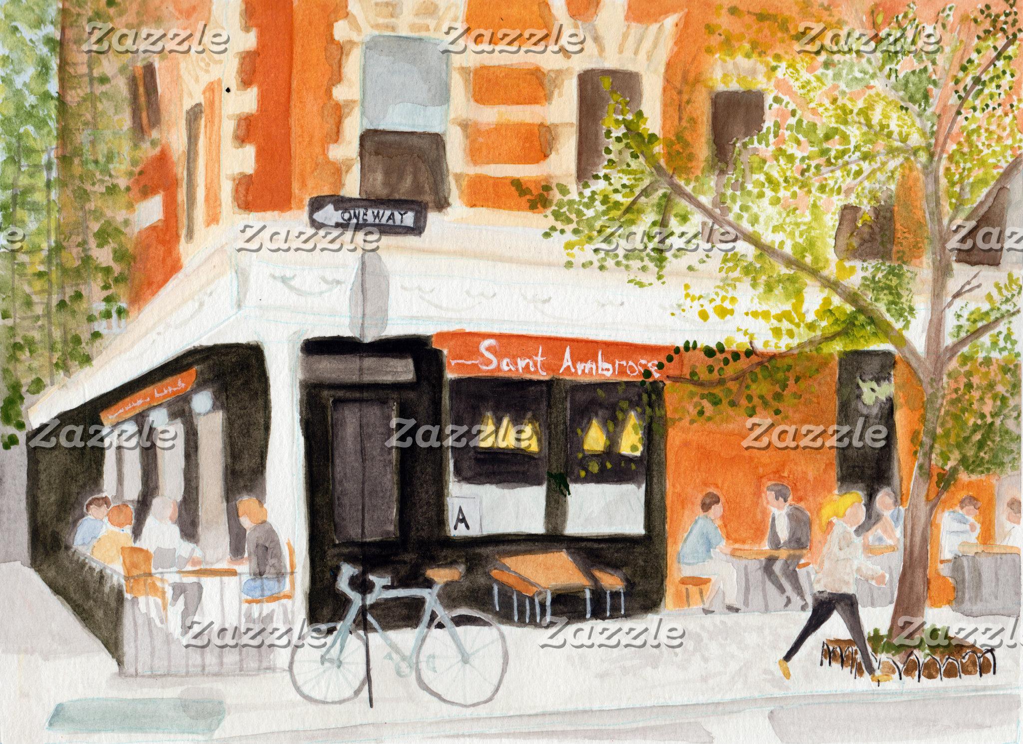 New York Watercolors