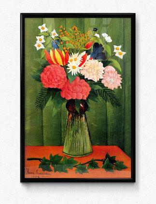 花デザインポスター