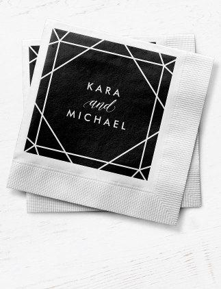 オリジナルデザイン紙ナプキン