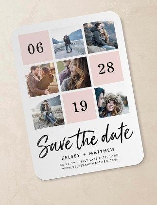オリジナルSave the Date招待状デザイン