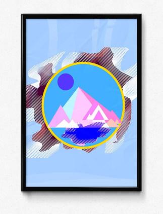 オリジナルデザインポスター