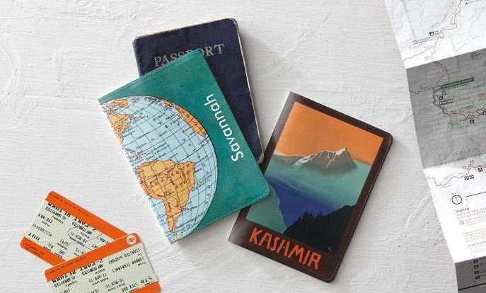 パスポートカバーデザイン