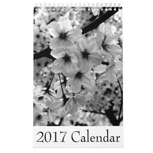 白黒写真カレンダー2017