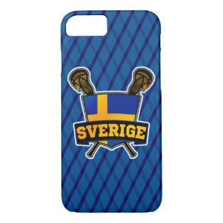 Svenskaのスウェーデンのラクロスの電話箱 iPhone 8/7ケース