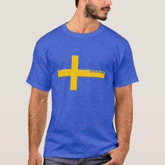 Sveriga Sの人のティー Tシャツ