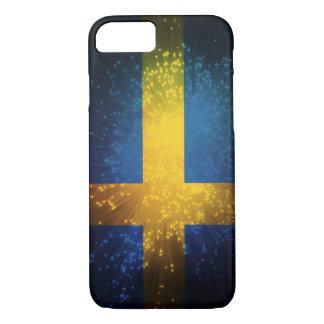 Sverige; スウェーデンの旗 iPhone 8/7ケース