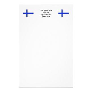 Sverigefinskaの旗 便箋
