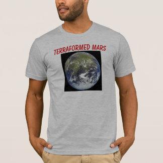 SwaaaAXAAAZXのTerraformedの火星 Tシャツ