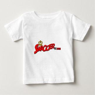 SwaggerTV COM赤い ベビーTシャツ