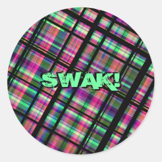 SWAK! ステッカーセット ラウンドシール