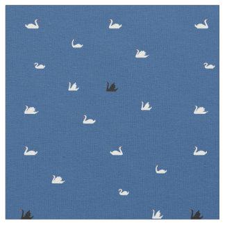 swan湖の小さい白鳥の生地 ファブリック