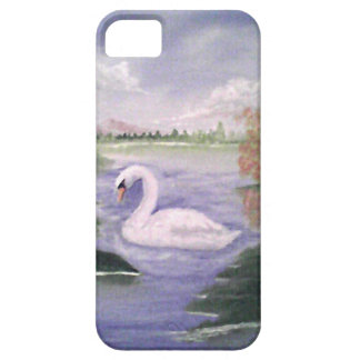 swan湖の電話カバー iPhone SE/5/5s ケース